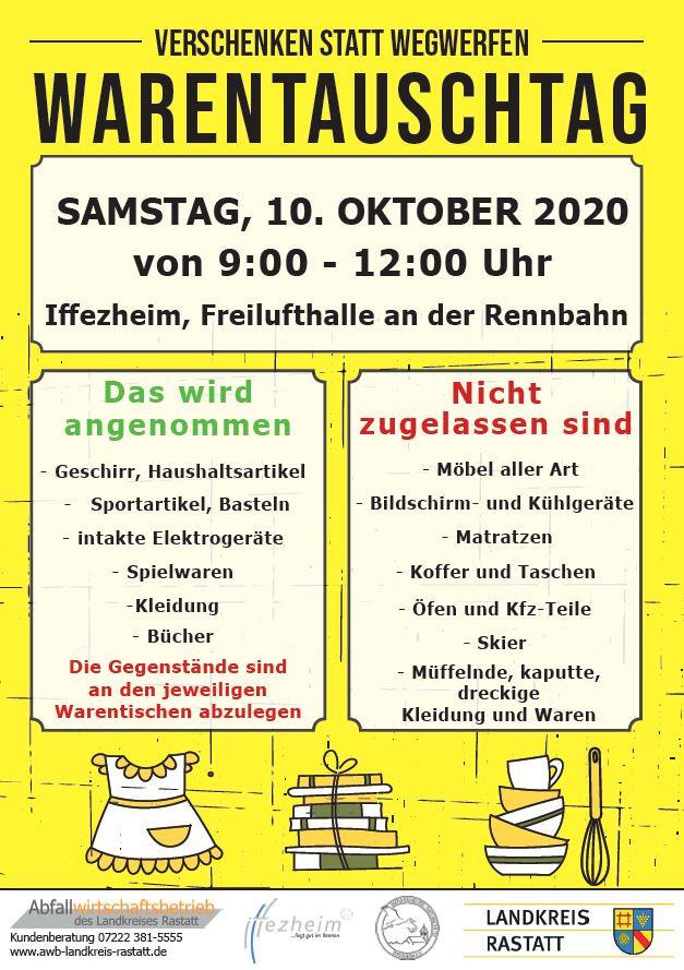 Poster Warentauschtag 2020